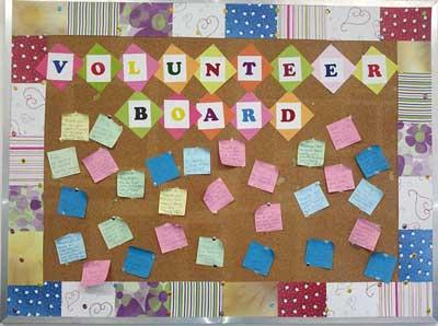 Activity Volunteers