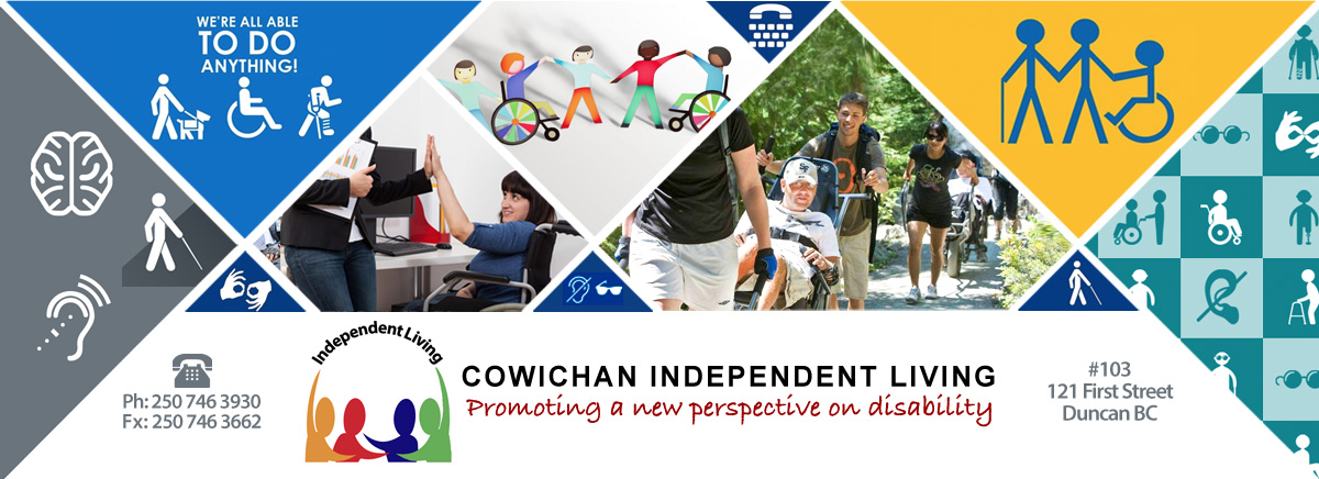 Cowichan Independent Living Banner